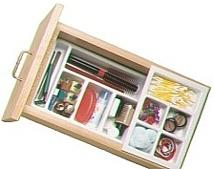 Vance Industries Perfect Fit Vanity Drawer Organizer Home Junk Drawers Organize